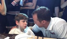 Kid With Cerebral Palsy Bursts Into Tears After Meeting Idol Drew Brees (Video)