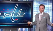 Washington Sports Anchor Copes with Capitals' Elimination by Getting Drunk…On Air (Video)