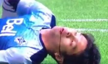 Frightening Injury: Vancouver Whitecaps Player Masato Kudo Knocked Unconscious in Violent Collision with Goalie (Video)