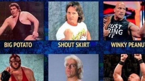 wrestler names