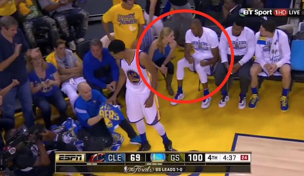 Andre Iguodala Chat With Blonde