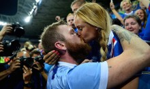 Iceland Captain Aron Gunnarsson Has a Crazy Hot Girlfriend (Videos + Pics)