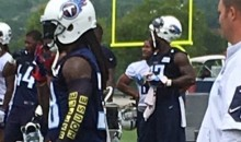 Titans CB B.W. Webb Rocks 'Waffle House' Sleeve During Practices. Here's Why…