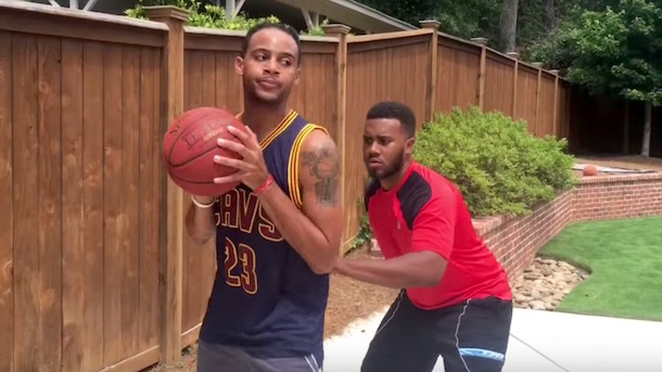 BdotAdot5 LeBron Impersonation