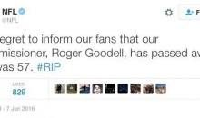 Somebody Hacked The NFL's Twitter Account & Said Roger Goodell Was Dead (PICs)