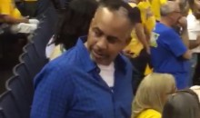 Ruthless Dude Fakes Handshake, Dabs on Dell Curry (Video)