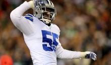Dallas Cowboys LB Rolando McClain Suspended 10 Games