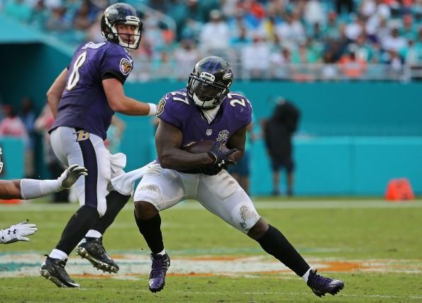 Baltimore Ravens v Miami Dolphins