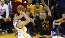 "Richard Jefferson To Klay Thompson: ""If It's A Man's Game, Shut Up About The Mozgov Screen."""
