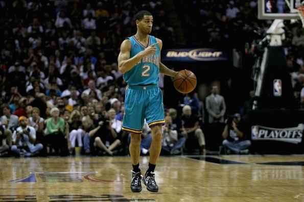 New Orleans Hornets v San Antonio Spurs, Game 4