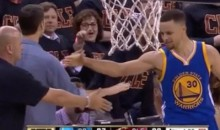 "Cavaliers Fan That Was Hit With Curry's Mouthguard Says '""It's All Good"""
