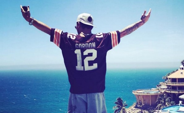 Johnny Manziel Cabo Mexico