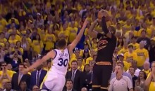 Kyrie Irving Hits Championship-Winning 3-Pointer Over Steph Curry (Video)