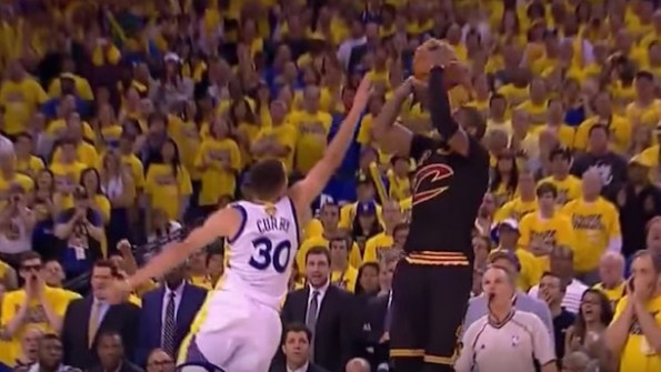 Kyrie Irving 3-pointer Game 7
