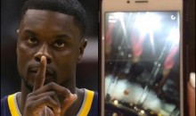 Lance Stephenson's GF Finds Out He's Cheating on Snapchat; Proceeds To Expose Him
