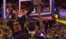 LeBron James Nasty Block on Andre Iguodala Helps Cavs Win Title (Video)