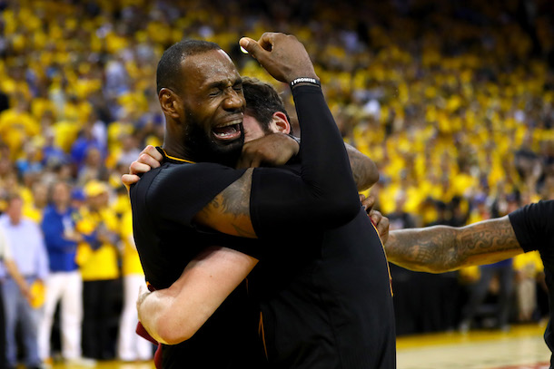 Cleveland Cavaliers Win NBA Championship, LeBron Earns Finals MVP (Video)   Total Pro Sports