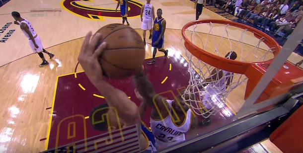 LeBron James reject Steph Curry