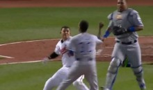 Manny Machado Punches Yordano Ventura After Being Hit By Pitch (Video)