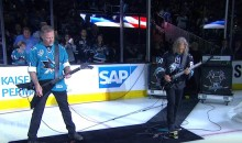 Metallica Plays Star-Spangled Banner Prior to Stanley Cup Finals Game 4 (Video)