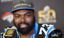Michael Oher's Teammates Fire off 'Blindside' GIFs after He Re-Signs With Panthers (Tweets)