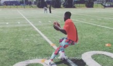 Nate Robinson is Still Working on Becoming an NFL Player (Video)