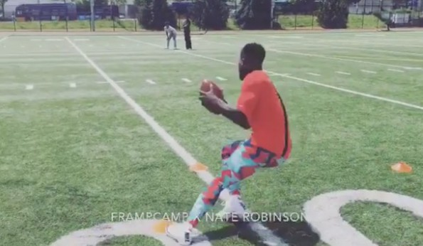 Nate Robinson football