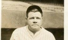 Odd/Hilarious Photo of Babe Ruth With a Bat Between His Legs Is Up For Auction (Pic)