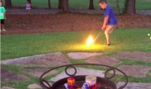 Golfing With a Fireball Isn't a Safe Way To Light Fireworks…Or Is It? (Video)