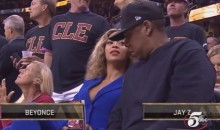 Jay-Z Spent All of Game 6 Ogling Beyonce, and Who Can Blame Him?