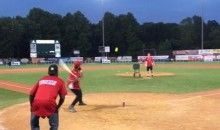 Odell Beckham Knocks a Happy Gilmore-Style Homer at a Charity Softball Game (Video)
