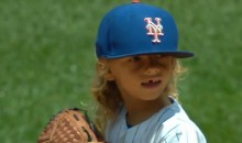 Noah Syndergaard Doppelganger, a.k.a. Mini Thor, Throws Out Mets First Pitch (Video)