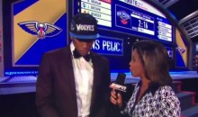T-Wolves Draft Pick Kris Dunn Rocked a JC Penny Suit with Gucci Sneakers Last Night (Video)