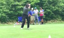 Ken Griffey Jr. Has an Excellent Golf Swing Too (Video)