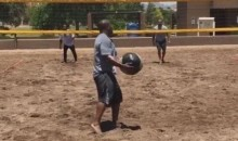 James Harrison, Fresh off PED Accusations, Is Playing Volleyball with Medicine Balls Again (Video)