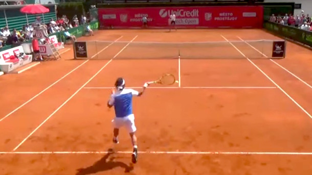 Tennis Player Robin Haase Penalized for Mocking Opponent's Excessive Grunting (Video)
