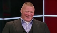 Brock Lesnar Arm-Wrestled Vince McMahon for Permission to Return to UFC (Video)