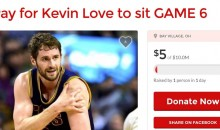 GoFundMe Created To Stop Kevin Love From Playing In Game 6