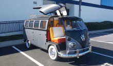 Cortland Finnegan Is Selling His Custom-Built Back to the Future VW Bus (Gallery)