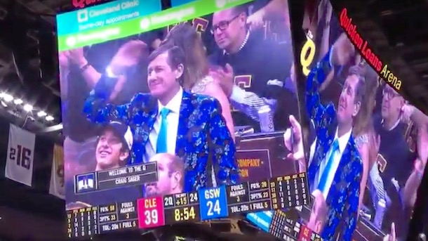 craig sager first nba finals game game 6 warriors cavaliers
