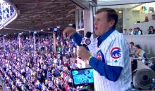 "Craig Sager Throws Out First Pitch, Sings ""Take Me Out to the Ballgame"" on ""Conquer Cancer"" Night at Wrigley (Videos)"