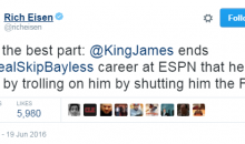 Scott Van Pelt, Rich Eisen & Other Sports Personalities Take Shots At Skip Bayless After Game 7