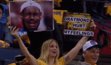 Warriors Fans Show Up Roasting LeBron With Their Signs (PICs)