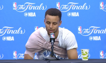 Curry Says He Would've Reacted The Same Way Draymond Did If LeBron Tried To Step Over Him (Video)