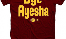 "Owner of ""Bye Ayesha"" T-Shirts Says He's Sold Thousands After Cavs Victory"