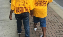 Cleveland Cavs Fans Taking Shots At The Warriors Ahead Of Game 6 (PIC's & Vid)