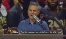 "Colin Cowherd To LeBron Haters: ""You Were Wrong & He Was Right"" (Video)"
