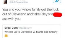 Cavs Fan Gets Fired From His Job For Cursing Out Steph Curry's Sister On Twitter