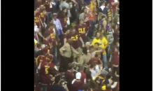 Cleveland Cavaliers Fans Were Fighting Each Other In The Stands (Video)
