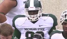 Draymond Green Played Football at Michigan State One Time, and He Was Really Terrible (Video)